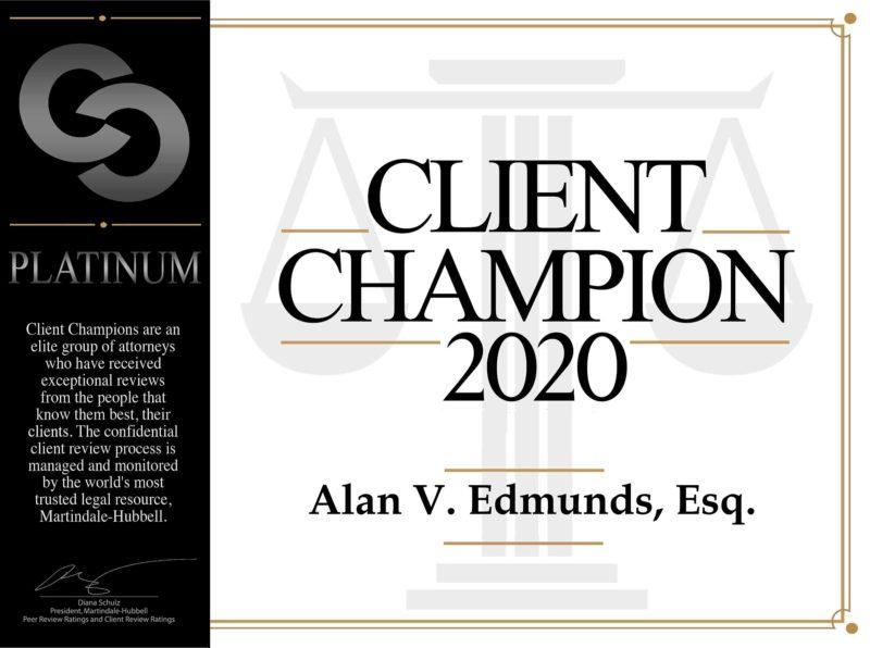 Client Champion 2020 Platinum