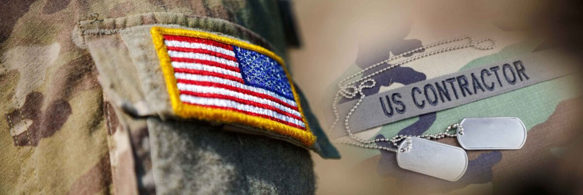 Military Contractor Banner